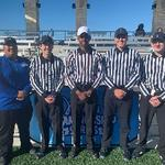 GVSU Student Earns National Award in Sports Officiating